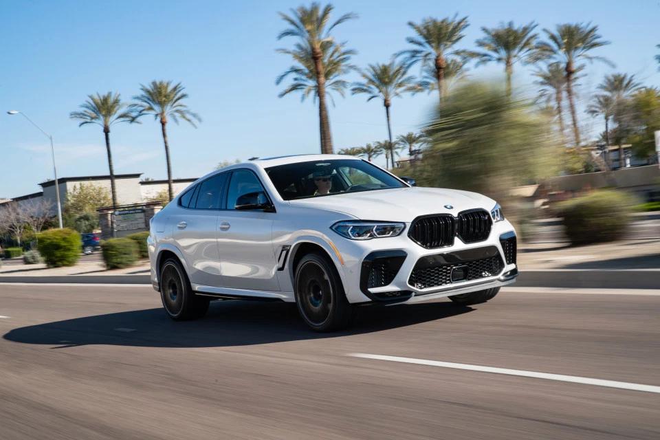 New BMW X6M